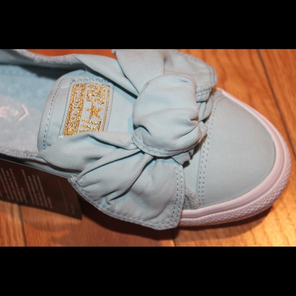 b49c8d055d89 Converse Slip Knot Brushed Twill Sneakers Blue 8